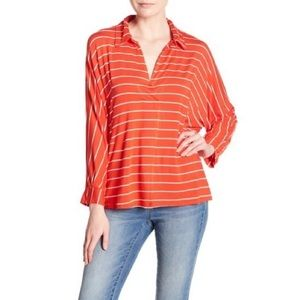 FREE PEOPLE Can't Fool Me Striped Top